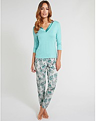 Camelia Soft Touch Tapered PJ Set
