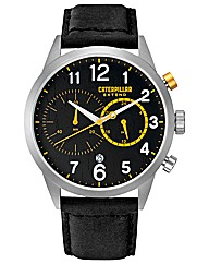 CAT Mens Chrono Strap Watch