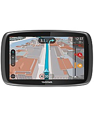 TomTom GO 600 with Lifetime UK maps