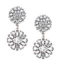 Mood Vintage Style Flower Drop Earring