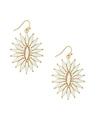 Mood Starburst Stone Drop Earring
