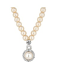 Alan Hannah Devoted Pearl Swirl Necklace