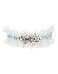 Alan Hannah Devoted Floral Lace Garter