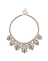 Mood Opalesque Jewelled Stone Necklace