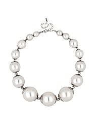 Mood Chunky Pearl Graduated Necklace