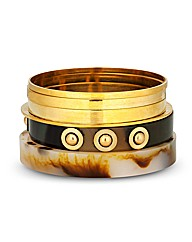 Mood Shell Effect Bangle Pack