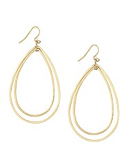 Mood Forward Facing Oval Hoop Earring
