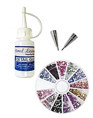 Rainbow Gem Embellishment Glue Kit