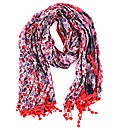 Double Sided Flower Print Effect Scarf