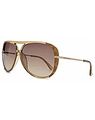 Michael Kors Julia Snakeskin Sunglasses
