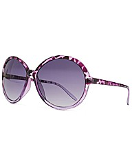 M:UK Jessica Two Tone Round Sunglasses