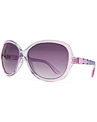 M:UK Maisy Faceted Temple Sunglasses