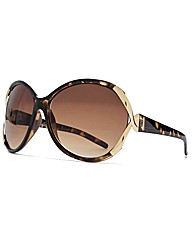 M:UK Belle Metal Twist Sunglasses