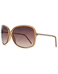 M:UK Amanda Metal Twist Arm Sunglasses