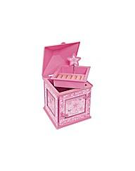 Butterfly Stars Musical Jewellery Box