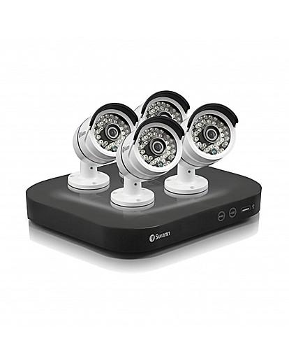 Swann 8Channel DVR 4camera CCTV Kit