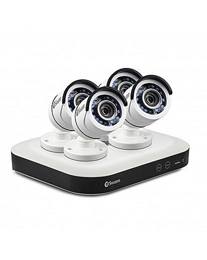 Swann DVR8-TVI/AHD 2IN1 4xBullet Cams