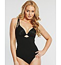 slimmer And Shine open bust bodysuit