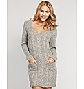 Retreat Cable Sweater Dress
