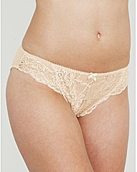 Just Peachy Lace Brief