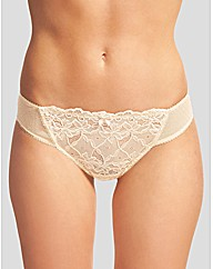 Just Peachy Lace Thong