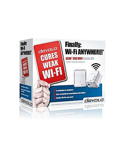 Devolo Powerline 500 Wi-Fi Starter Kit