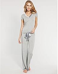 Camelia Short Sleeve PJ Set