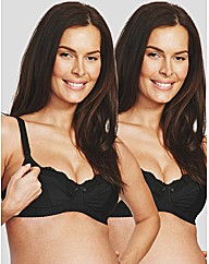 Holly Bliss 2 Pack Nursing Bra