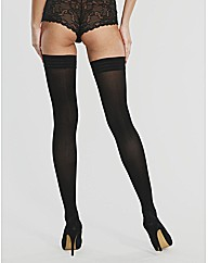 50 denier Velvet Opaques Single Hold-ups