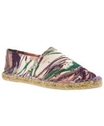Schuh Cairo Flat Espadrille Splatter