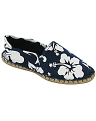 Divaz Flower Rope Shoe Espadrille