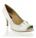 Marta Jonsson White leather court