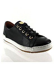 Marta Jonsson black leather trainer