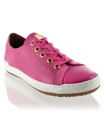 Marta Jonsson Pink leather trainer