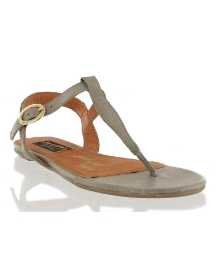 Marta Jonsson Taupe leather sandal