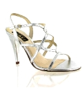 Marta Jonsson silver leather sandal