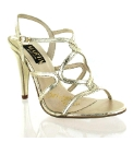 Marta Jonsson Gold leather sandal