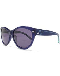 Miss Sixty Blue Cateye Sunglasses