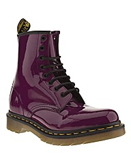 Dr Martens 8 Eye Patent Boot