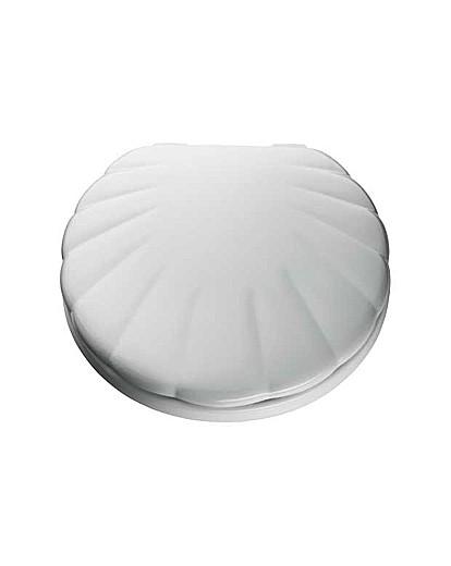 Shell Toilet Seat - White