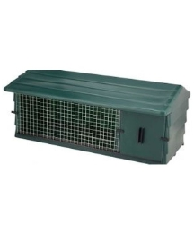 Mr Snugs Green Rabbit Hutch 108x56x47cm