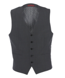 Skopes Ega Grey Button Waistcoat