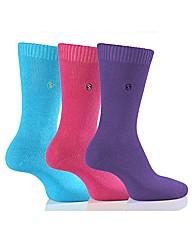 3Pr Sockshop Colour Burst Socks Gift Box