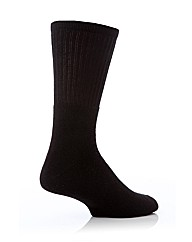 2 Pr Cushioned Foot Work Sock