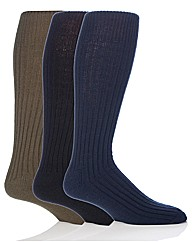 3 Pr Long Military Action Sock