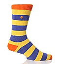 1 Pr Sockshop Striped Colour Burst Socks