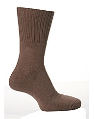 1Pr Sockshop Gentle Grip Cushioned Socks