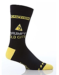 1 Pr Sockshop B/Day Dtw Caution! Grumpy