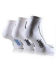 3Pr Jeep Trainer Socks