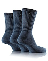 3 Pr Jeep Vintage Leisure Socks